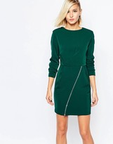 The Laden Showroom X Meekat Shift Dress with Zip Skirt