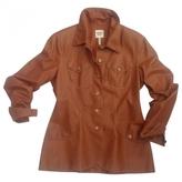 Hermes Leather Blazer