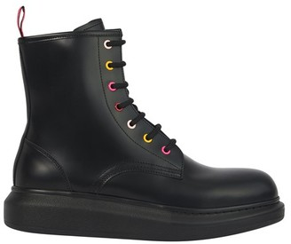 Alexander McQueen Laced ankle boots