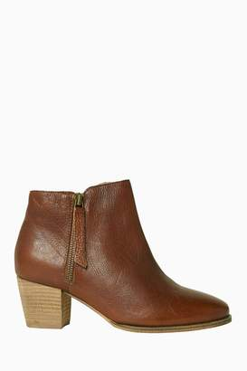 Fat Face Womens FatFace Acorn Zip Ankle Boot - Brown