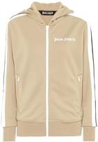 Palm Angels Logo hoodie track jacket