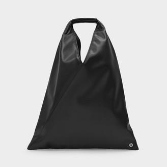 MM6 MAISON MARGIELA Handbag Japanese Small In Black Eco Leather