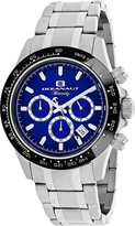 Oceanaut Men's 44mm Steel Bracelet & Case Quartz Blue Dial Analog Watch Oc6113