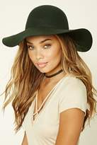 Forever 21 Floppy Felt Wool Hat