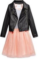 Sean John 2-Pc. Jacket & Dress Set, Big Girls (7-16)