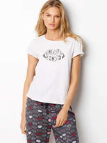 Victoria's Secret Victorias Secret Sleep Crewneck Tee