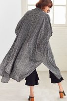 Urban Outfitters Striped Long Kimono