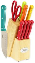 Ginsu Essential Multicolor 10-Piece Cutlery Set with Steak Knives in Red