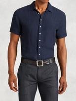 John Varvatos Linen Short Sleeve Shirt