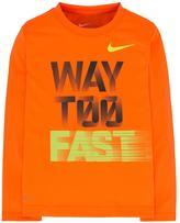 "Nike Boys 4-7 Dri-FIT ""Way Too Fast"" Graphic Tee"
