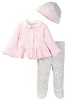 Little Me Leopard Cardigan Set (Baby Girls)