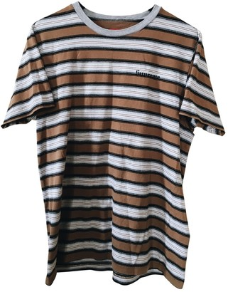 Supreme Brown Cotton T-shirts