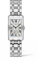 Longines Women's Steel Bracelet & Case Swiss Quartz White Dial Watch L55124716