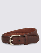 North Coast Leather Square Buckle Belt