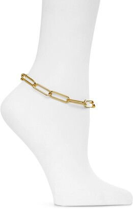 Melinda Maria Carrie Chain Link Anklet