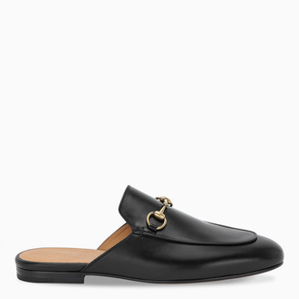 Gucci Women's black Princetown slippers