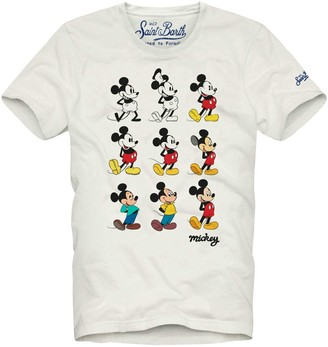 MC2 Saint Barth Mickey Mouse Story Man T-shirt - Disney Special Edition