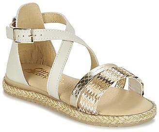 Citrouille et Compagnie IMARTIA girls's Sandals in Gold
