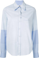 MM6 MAISON MARGIELA fine striped shirt - women - Cotton - 38