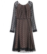 GISELLE LACE OVERLAY DRESS