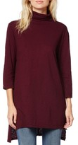 Michael Stars Women's Mock Neck Supima Cotton Tunic
