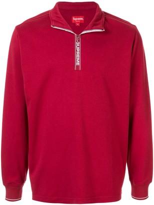 Supreme World Famous Half Zip Pullover