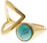 Rebecca Minkoff Boho Bead Twist Ring