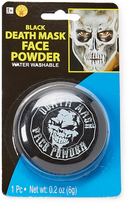 Rubie's Costume Co Death Mask Black Makeup Powder