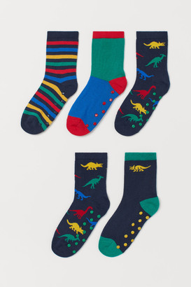 H&M 5-Pack Anti-Slip-Socks