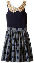 fiveloaves twofish Denim Dot Tank Dress (Little Kids/Big Kids)