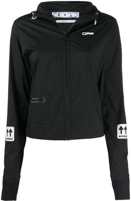 Off-White Active Full-Zip Lightweight Jacket