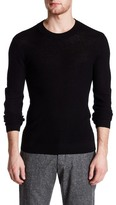 ATM Anthony Thomas Melillo Felt Elbow Patch Wool Pullover