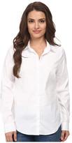 NYDJ Petite Fit Solution Button Front Shirt