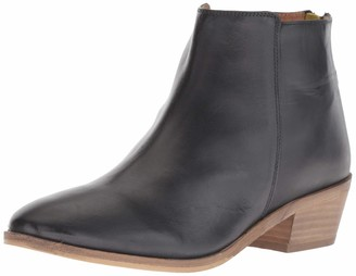 Joules Women's Langham Chelsea Boot Black 6 Medium UK (8 US)