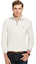 Polo Ralph Lauren Estate Rib Quarter-Zip Mockneck Pullover