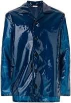 Jil Sander straight-fit button up coat