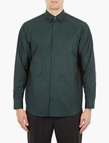 Marni Green Raglan Sleeve Shirt