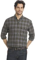 Arrow Big & Tall Plaid Classic-Fit Button-Down Shirt