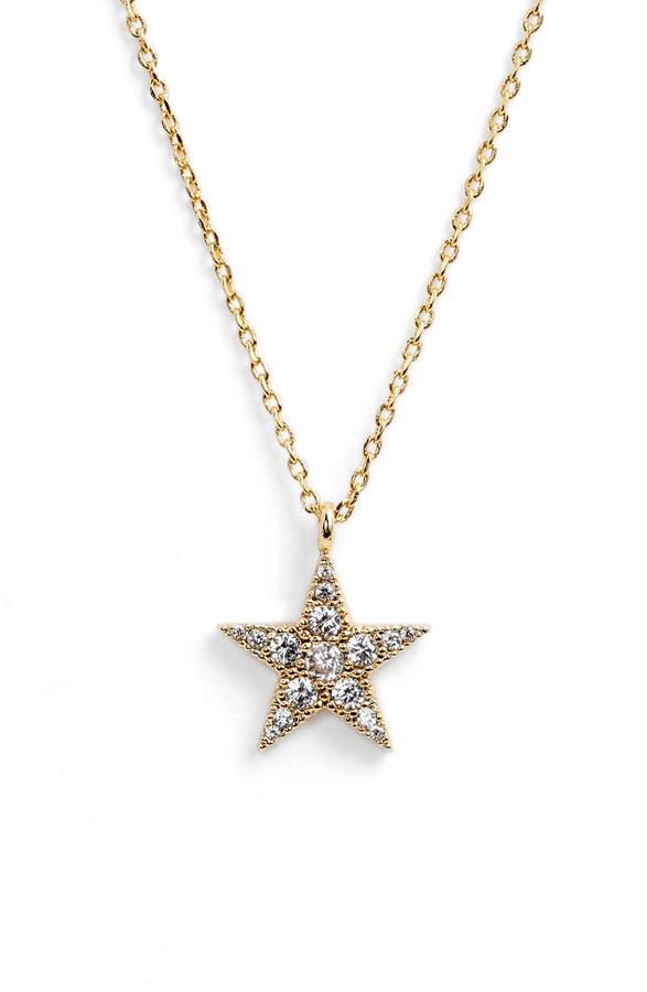 Estella Bartlett Granulated Star Necklace