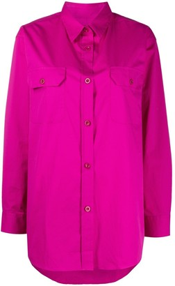 Paul Smith Flap-Pockets Long-Sleeved Shirt