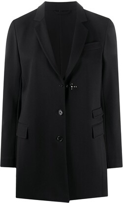 Fay Single-Breasted Tailored Blazer