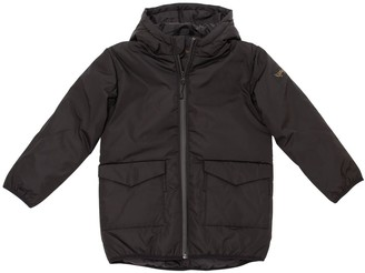 Finger In The Nose Hooded Nylon Puffer Coat