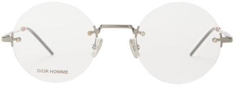 Christian Dior Sunglasses - Dior0236 Round Metal Glasses - Mens - Clear