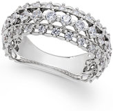 Marchesa Certified Diamond Band in 18k White Gold (1 ct. t.w.)