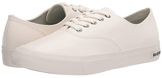 SeaVees Legend Sneaker Leather (White) Women's Shoes