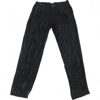 Michael Kors Black Viscose Trousers