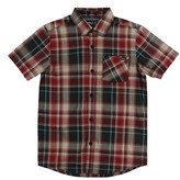 O'Neill Boy's Plaid Short Sleeve Shirt
