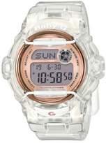G-Shock Baby-G Clear Resin and Rose Goldtone Quartz Digital Watch