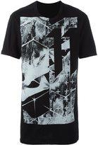 11 By Boris Bidjan Saberi logo print T-shirt