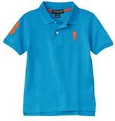 US Polo Association U.s. Polo Assn. Boys' Pique Polo.